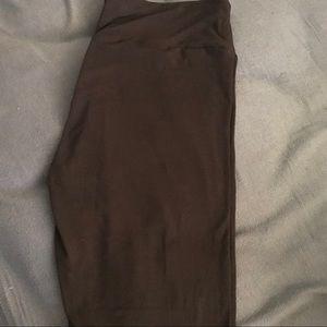 Pants - OS Black Legging